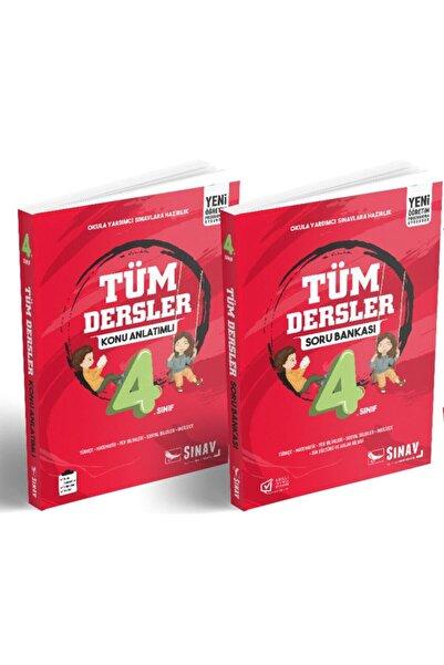 Sınav Yayınları 4.sınıf Tüm Dersler Konu Anlatım Ve Soru Bankası Seti
