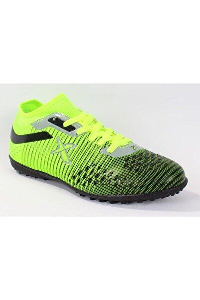 Kinetix Neon Yeşil Siyah Erkek Halı Saha Ayakkabı&krampon Bıspo Tf
