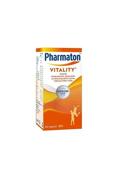 Pharmaton Vitality 60 Kapsül Multivitamin Mineral