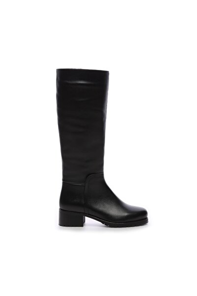 KEMAL TANCA Kadın Derı Çizme Çizme 94 5118C BN CZM SK19/20