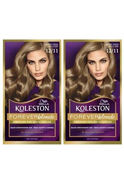 Koleston Saç Boyası 12 11 Ekstra Yoğun Küllü Sarı X 2 Adet