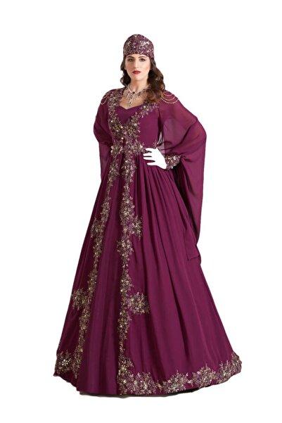 Ceyyiz Bindallı Kına Elbisesi Yeni Melek 5 Parça