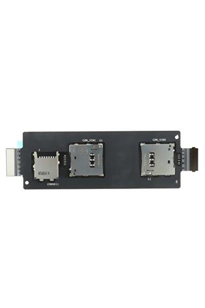 Fulldestek Asus Zenfone 2 Dual Ze550ml A++  Uyumlu Sim Ve Hafıza Kart Okuyucu Flexi (çift Hatlı)