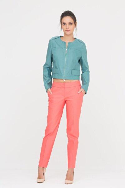 GIZIA CASUAL Kadın Nar Çiçeği Rengi Pantolon M17YAY05910YF