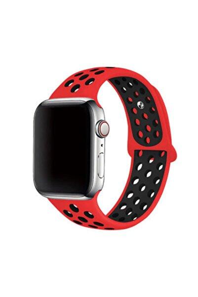 zore Apple Watch 44mm 2-3-4-5-se-6.nesil Uyumlu Göz Alıcı Renkler Şık Tasarım Silikon Kordon