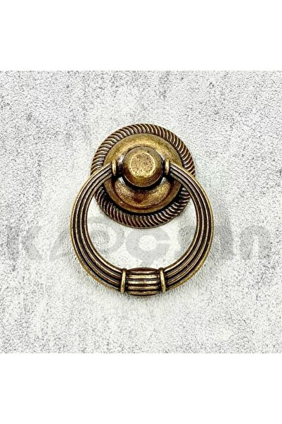 KOÇSAN Rustik Sarkaç Düğme Kulp Halka Dolap Çekmece Mobilya Mutfak Kulbu