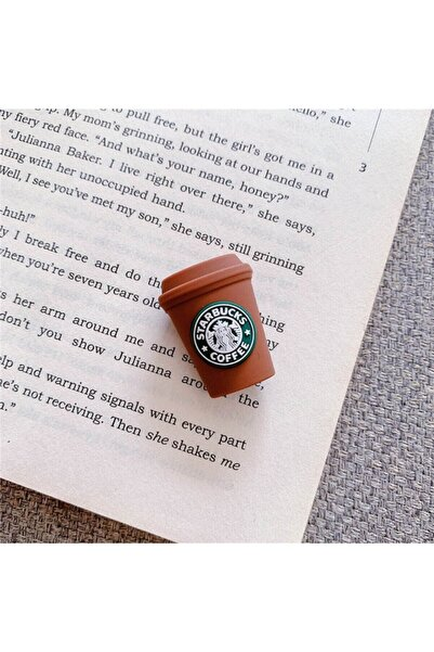 MY MÜRDÜM Sevimli Silikon Kablo Koruyucu Starbucks