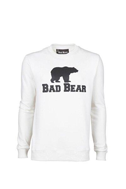Bad Bear Crewneck Baskılı Pamuklu Erkek Sweatshirt 20.02.12.011