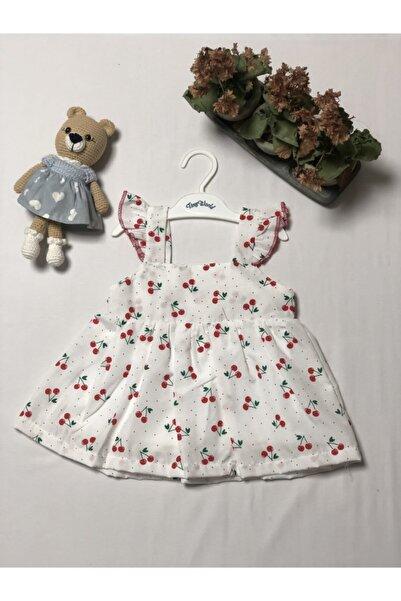 Tiny World Melek Kanatlı Kirazlı Elbise