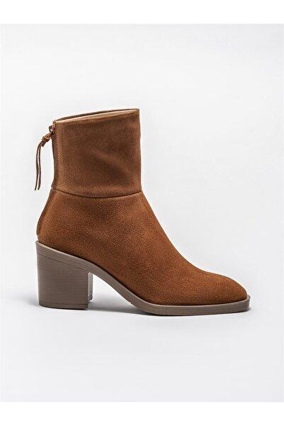 Elle Shoes Taba Deri Kadın Günlük Bot