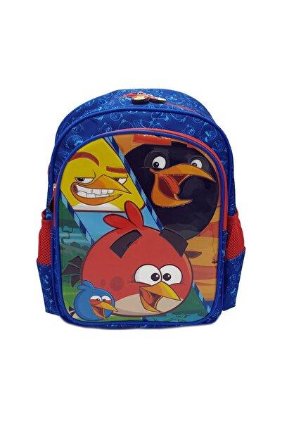 Angry Birds Unisex Mavi Okul Çantası Ckrdoc87893-ma