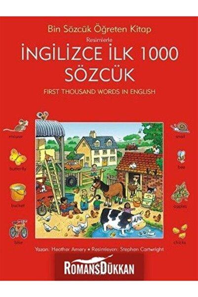 1001 Çiçek Kitaplar İngilizce İlk Bin Sözcük