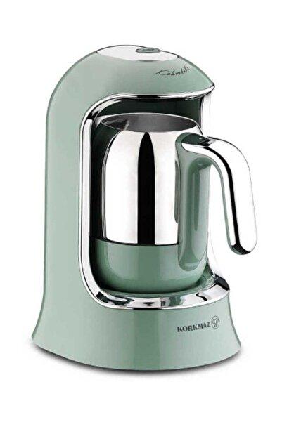 KORKMAZ A860-04 Kahvekolik Turkuaz Otomatik Kahve Makinesi