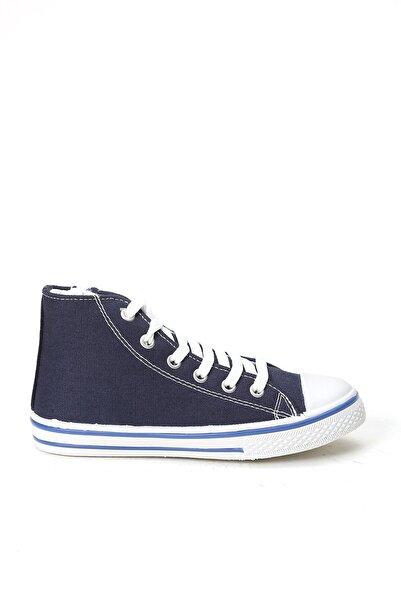 Trendini Kids Unisex Çocuk Keten Uzun Ayakkabı