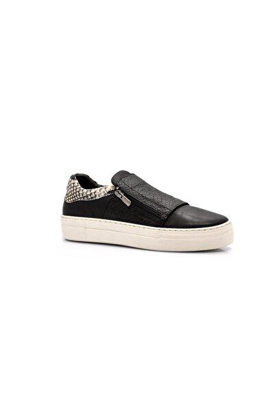 Dexter Kadın Siyah Leopar Ayakkabı Ep143073-1