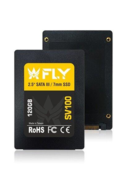 "Fly 2.5"" 120gb Sv100 Sata-3 Ssd 560/540 Mb/sn 2y"