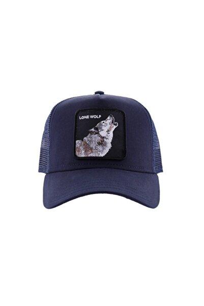 Goorin Bros Unisex Lacivert Wolf Şapka
