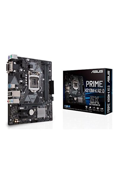 ASUS Prime H310m-k R2.0 Intel H310 2666 Mhz Ddr4 Soket 1151 Matx Anakart
