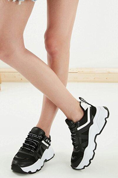 Mio Gusto Terry Siyah Sneaker