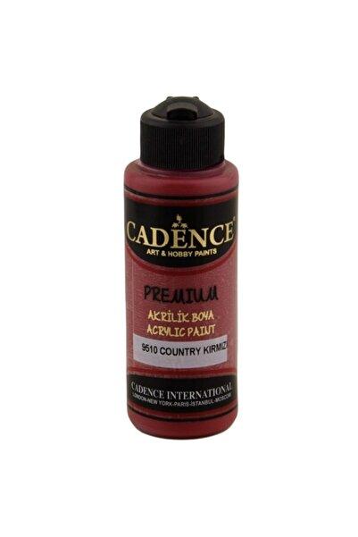 Cadence Premıum Akrilik Boya 9510 Country Kırmızı 120 ml