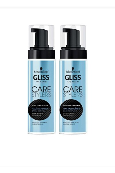 Gliss Care Sytlers Hacimlendiren Bakım Köpüğü  2 Adet 150 ml