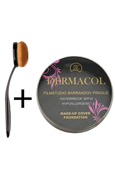 Dermacol Make-up Cover Fondöten Kapatıcı Pata Krem 211 Fırça Hediyeli