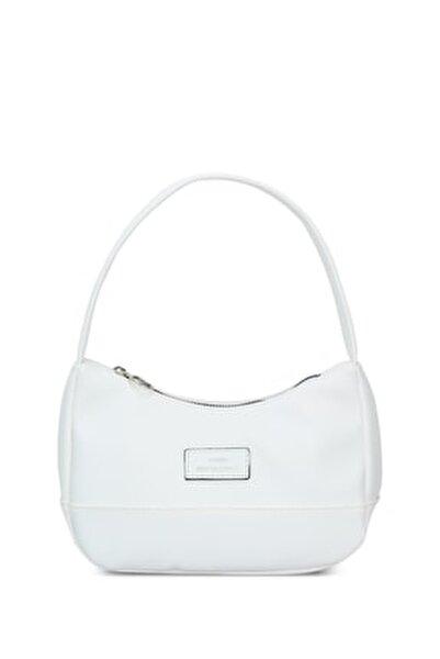 Kadın Beyaz Baguette Çanta 197