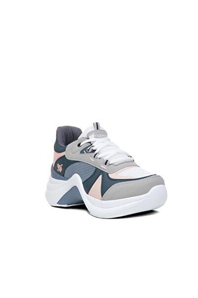 Twingo Kadın Gri  Spor Ayakkabı Sneaker