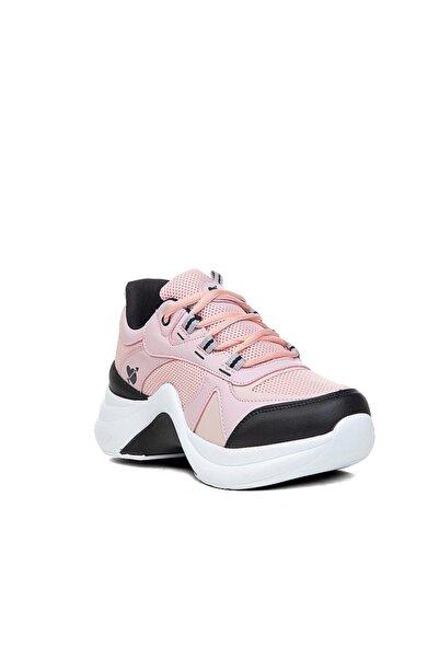 Twingo Kadın Spor Ayakkabı Pudra Sneaker