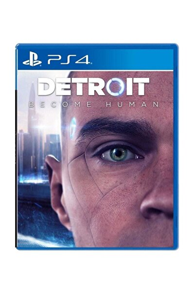 Sony Detroit Become Human - Türkçe Menü Ps4 Oyun