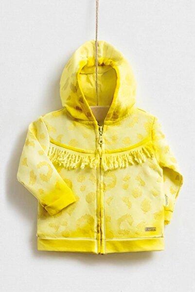 Wogi Kız Bebek Sarı Ceket