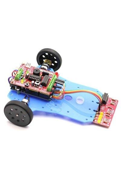 Robotus Arduino Basit Çizgi Izleyen Kiti - Arduline (demonte)