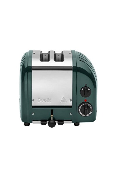 Dualit 27520 Classic 2 Hazneli Çam Yeşili Çelik Ekmek Kızartma Makinesi