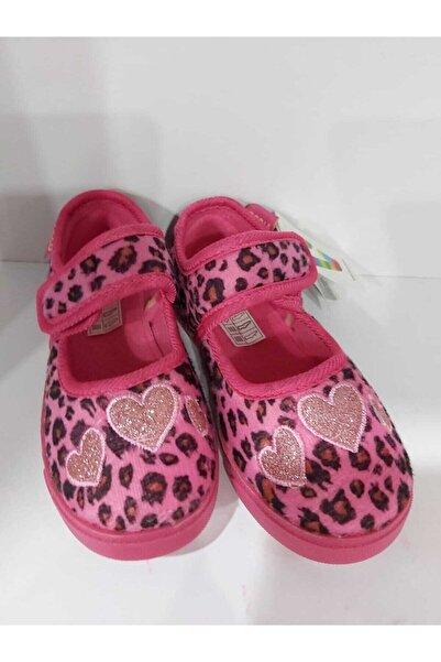 Vicco Pembe Leopar Desenli Ev Ayakkabısı