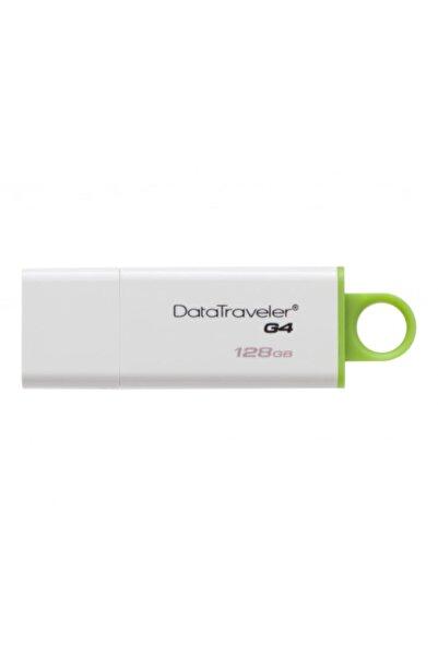 Kingston Kıngston Dtıg4/128gb Usb 3.0 Data Traveler G4 Flash Disk