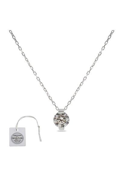 Swarovski Türker Jewelry Swr0009 Zirkonia Taşlı Bayan Kolye