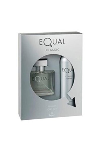 Equal Edt  75ml Unisex 2 Li Parfüm Seti