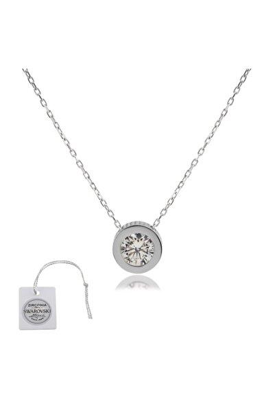Swarovski Türker Jewelry Swr0014 Zirkonia Taşlı Bayan Kolye