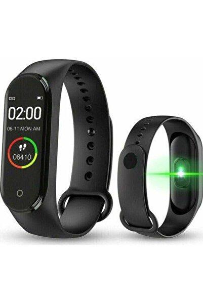 Kingboss M4 Akıllı Bileklik, Smart, Adım Sayar, Nabız Ölçer, Android Ve Ios Bağlantılı Akıllı Saat