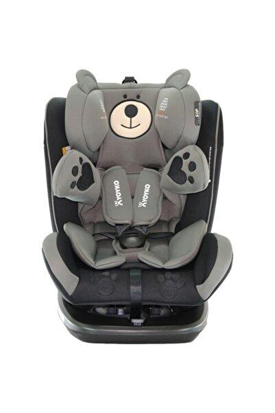 YOYKO Bear Dönebilir Yatabilir 0-36 Kg Oto Koltuğu Siyah /