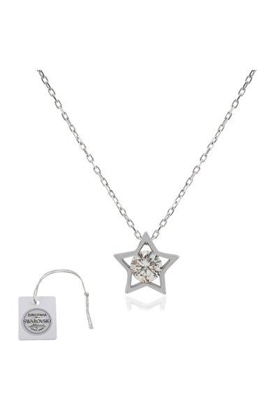 Swarovski Türker Jewelry Swr0013 Zirkonia Taşlı Bayan Kolye
