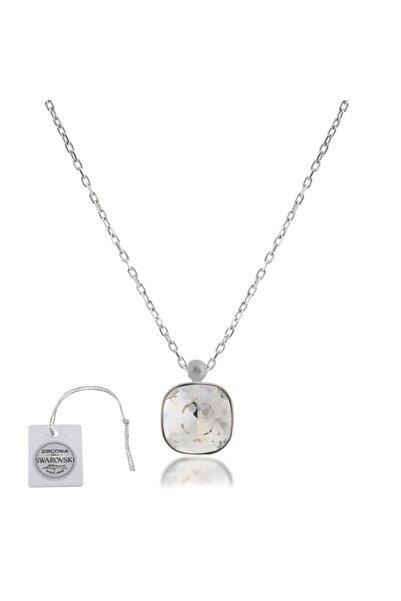 Swarovski Türker Jewelry Swr0056 Zirkonia Taşlı Bayan Kolye