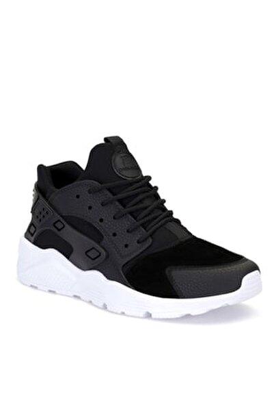 Unisex Siyah Bağcıklı Sneaker HR1.DS