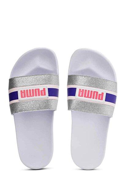 Puma Leadcat Ftr 90s Pop Wns Kadın Terlik Ayakkabı 37262402 Beyaz