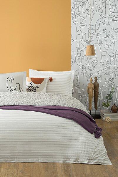 Yataş Bedding Bedding Abstre Ranforce Çift Kişilik Nevresim Takımı