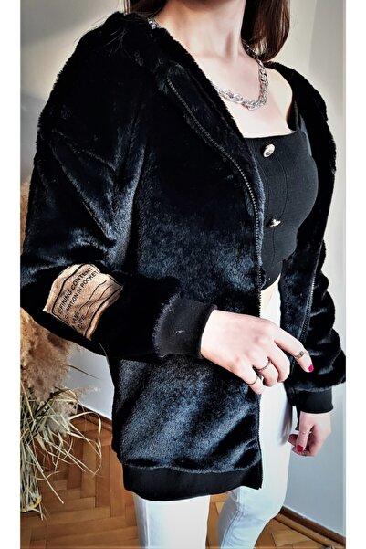 Enjoy Kadın Siyah İçi Astarlı Ceket