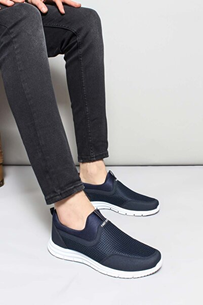 FAST STEP Lacivert Beyaz Erkek Sneaker Ayakkabı 930maf555