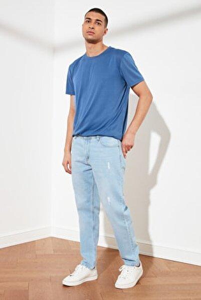 Mavi Erkek Destroylu Relax Fit Jeans TMNSS21JE0129