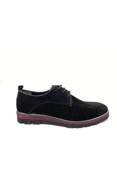Zeyrek Erkek Siyah Süet Ayakkabı