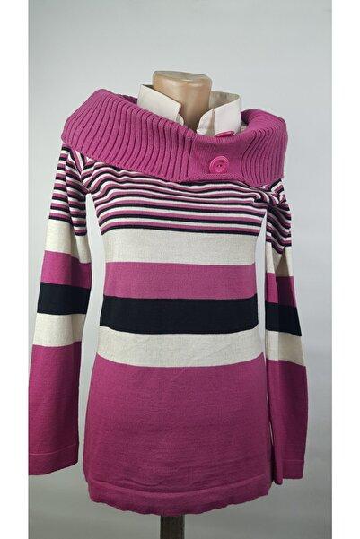 SOYLU Bayan Birleşik Kazak Gömlek Yakalı Tasarım